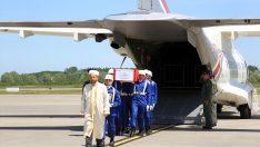 Şehit Demirci'nin Naaşı Çarşamba Havalimanı'na Getirildi