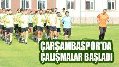Çarşambaspor'da Çalışmalar Başladı