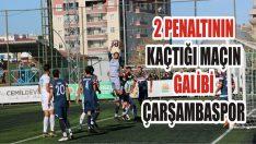 2 Penaltının Kaçtığı Maçın Galibi Çarşambaspor