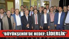 """""""Büyükşehir'de Hedef; Liderlik"""""""