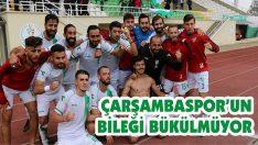 Çarşambaspor'un Bileği Bükülmüyor