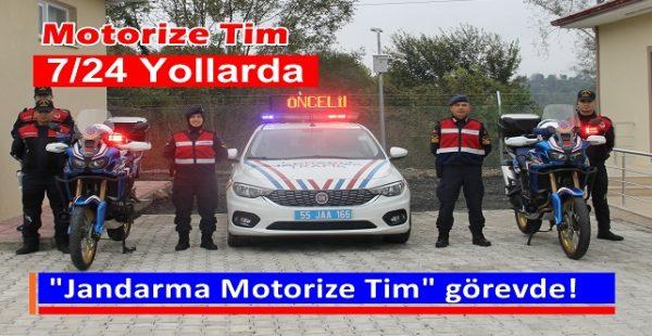 Jandarma Motorize Tim görevde!