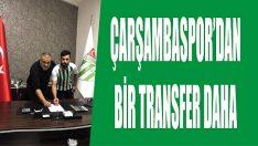 Çarşambaspor'dan Bir Transfer Daha