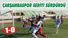 Çarşambaspor Seriyi Sürdürdü: 1-0