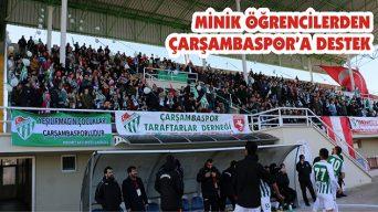 Minik Öğrencilerden Çarşambaspor'a Destek