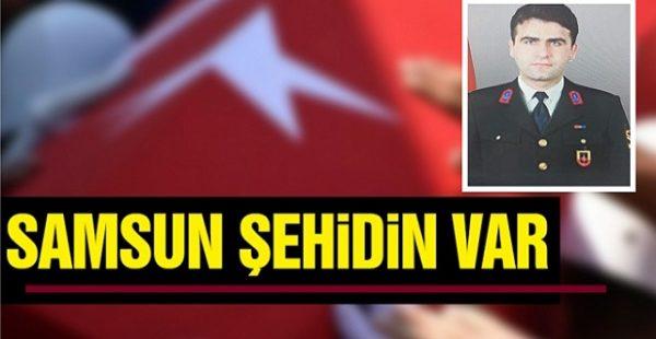 Samsun'a Şırnak'tan Acı Haber Geldi
