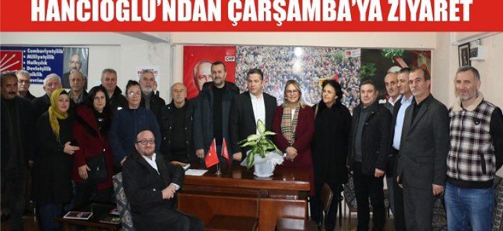 Hancıoğlu'ndan Çarşamba'ya Ziyaret