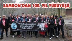 SAMKON'dan 100. Yıl Yürüyüşü
