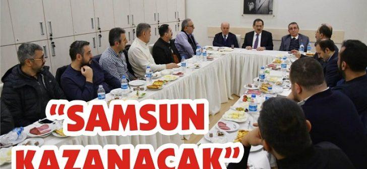 """""""Samsun Kazanacak"""""""