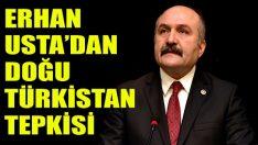 Erhan Usta'dan Doğu Türkistan Tepkisi