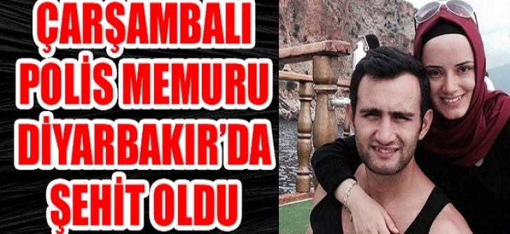Çarşambalı Polis Memuru Diyarbakır'da Şehit Oldu