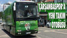 Çarşambaspor'a Yeni Takım Otobüsü