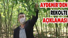 Aydemir'den Rekolte Açıklaması