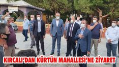 Kırcalı'dan Kürtün Mahallesi'ne Ziyaret