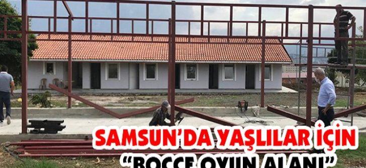 """Samsun'da Yaşlılar İçin """"Bocce Oyun Alanı"""""""