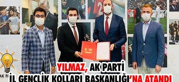 Yılmaz, AK Parti İl Gençlik Kolları Başkanlığı'na Atandı