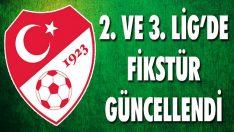 2. ve 3. Lig'de Fikstür Güncellendi