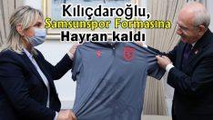 Kemal Kılıçdaroğlu, Samsunspor Formasına hayran kaldı