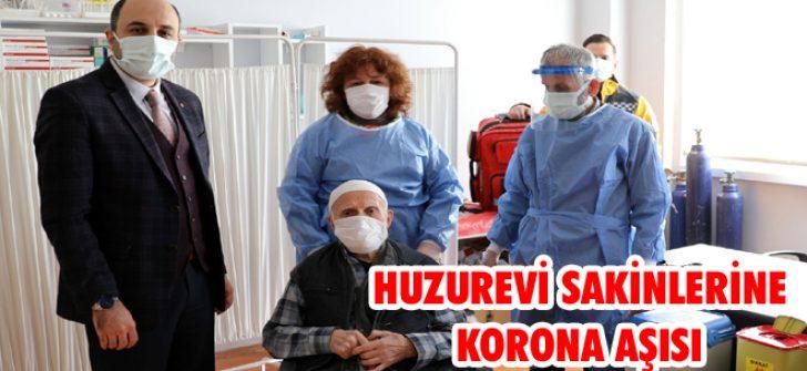 Huzurevi Sakinlerine Korona Aşısı
