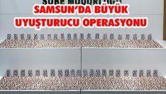 Samsun'da Büyük Uyuşturucu Operasyonu