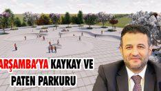 Çarşamba'ya Kaykay ve Paten Parkuru