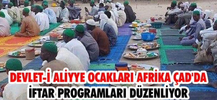 Devlet-i Aliyye Ocakları Afrika Çad'da İftar Programları Düzenliyor