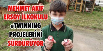 Mehmet Akif Ersoy İlkokulu eTwinning Projelerini Sürdürüyor