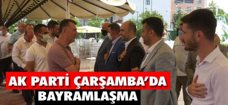 AK Parti Çarşamba'da Bayramlaşma