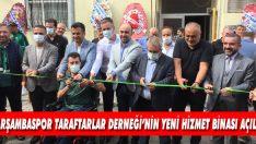 Çarşambaspor Taraftarlar Derneği'nin Yeni Hizmet Binası Açıldı