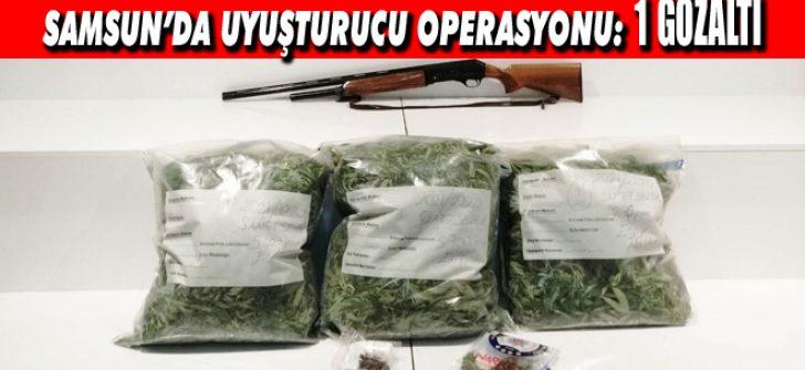 Samsun'da Uyuşturucu Operasyonu: 1 Gözaltı