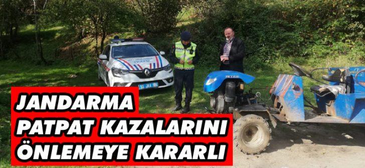 Jandarma Patpat Kazalarını Önlemeye Kararlı
