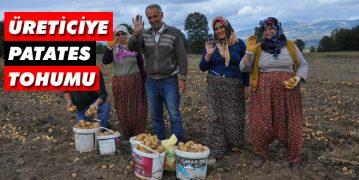 Üreticiye Patates Tohumu